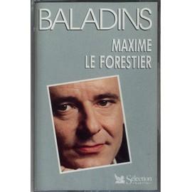 Maxime Le Forestier - Baladins - Cassette Audio - 18 Titres - Sagesse Du Fou - Ambalaba (Live) - Mon Frère - La Mauvaise Réputation (Live) - Né Quelque Part (Live) - San Francisco