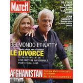 Paris Match Du 11 Septembre 2008 N� 3095 : Jean Paul Belmondo (Couverture +6p) Madonna (3p) Keziah Jones (1p) Nicolas Canteloup (2p)