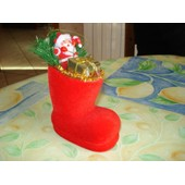Botte Decoratif De Noel