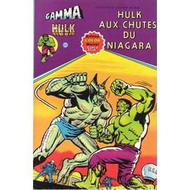 Album Gamma N� 4 : Hulk Aux Chutes Du Niagara