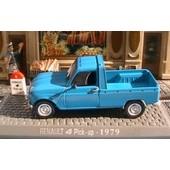 Renault 4 Pick Up 1979 Decouvert Universal Hobbies 1/43