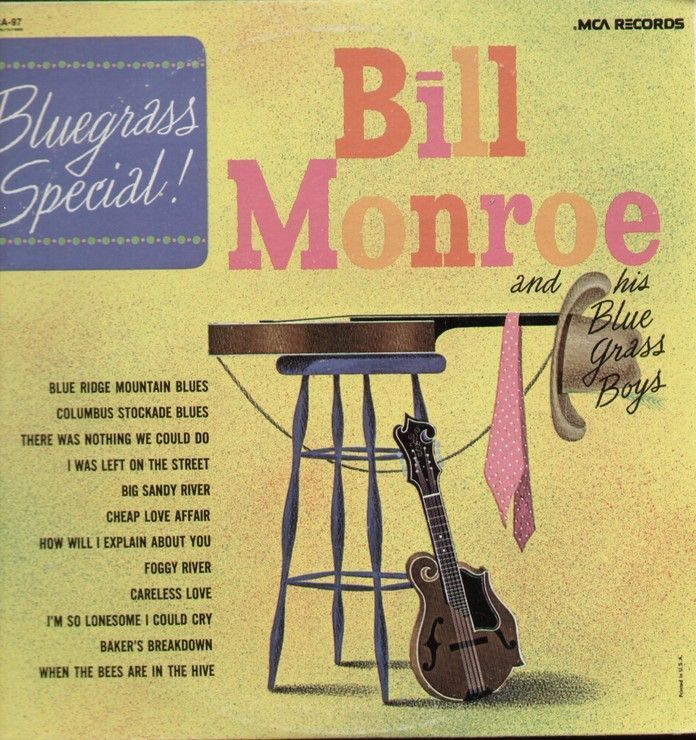 Bluegrass Special Blue Ridge Mountain Blues, Colombus Stockade Blues, I Was Left On The Street, Big Sandy River, Cheap Love Affair, Foggy River, Baker