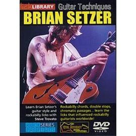 guitar techniques brian setzer