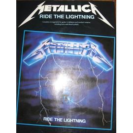 Metallica:Ride The Lightning Guitar Tab
