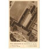 Quintin (C�tes Du Nord) : Le Petit S�minaire -Vue A�rienne D'une Maquette Par L'architecte Le Breton (B�timent Existant Et Ceux � Construire)