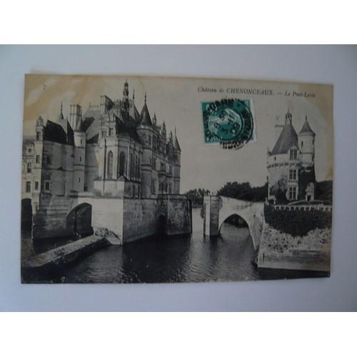 Chenonceaux le pont <strong>levis</strong>