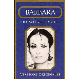 barbara - k7 audio - première partie