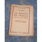 La Droite En France De 1815 � Nos Jours de Remond, Ren�