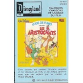 Louis De Fun�s - K7 Audio - Les Aristochats - Walt Disney
