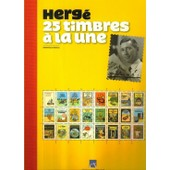 Herg� 25 Timbres � La Une de dominique maricq