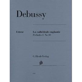 La Cathédrale engloutie (Préludes I Nr. 10) Klavier