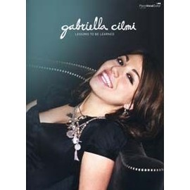Cilmi Gabriella : lessons to be learned - chant + piano + accords
