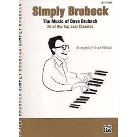 Brubeck : simply Brubeck - piano facile - Alfred