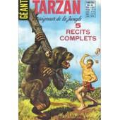 Tarzan N�4 - Le Seigneur De La Jungle - 5 Recits Complets de Collectif