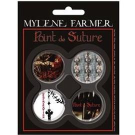 mylene farmer badge  n°2 point de suture