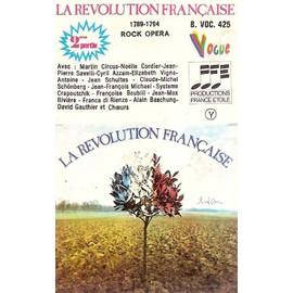 alain bashung, martin circus, jean-pierre savelli, jean schultes, jean-max rivière, système crapoutchik, jean-françois michael - k7 audio - la révolution française - rock opéra - 2eme partie