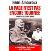 La Grande Histoire Des Fran�ais Sous L'occupation de henri amouroux