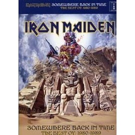 Iron Maiden ; somewhere back in time best of 1980-1989 - guitare tablatures
