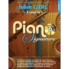 Clerc Julien : piano signature (+ 1 CD) - Beuscher