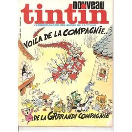 Nouveau Tintin N� 77 : Voila De La Compagnie