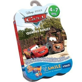 Cars Quatre Roues - Jeu Pour V.Smile (Vtech Vsmile)