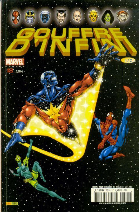 Marvel Mega Hors Série Hors-série N° 18 - Gouffre d'infini 1/2