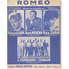 Roméo - Chant & Piano- Pétula Clark