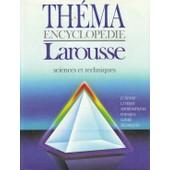 Th�ma Encyclopedie(T3): Sciences Et Techniques de collectif encyclop�die