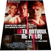 Le Talentueux Mr. Ripley De Anthony Minghella Avec Matt Damon, Jude Law, Gwyneth Paltrow / Affiche De Cin�ma Originale / Grand Format 120/160