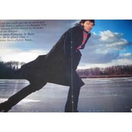 BRUCE SPRINGSTEEN Poster Revue Rock & Folk 27x21cm DE 1985