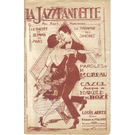 La Jazzbandette, fox-trot humoristique