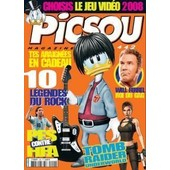 Picsou Magazine N� 442 : Tomb Raider Underworld,Pes Contre Fifa, 10 L�gendes Du Rock...