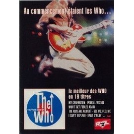 THE WHO Publicite Du Magazine Rock'n'folk. LE MEILLEUR DES WHO 1996. Format 30x21cm