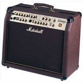 Marshall Acoustic Soloist As100d - Ampli Combo Guitare �lectro-Acoustique - 2x 50 Watts - 2x Hp 8