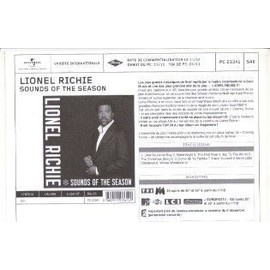 LIONEL RICHIE PRECO PROMO SOUNDS OF THE SEASON. 23341