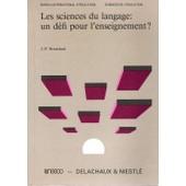 Le Fonctionnement Des Discours - Un Mod�le Psychologique Et Une M�thode D'analyse de Jean-Paul Bronckart