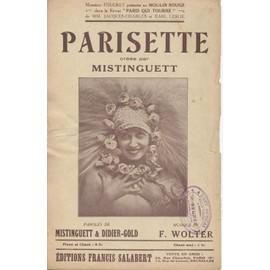 Mistinguett - Parisette - 1928
