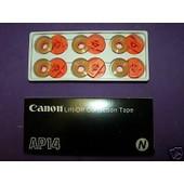 Ruban Correcteur Noir Pour Machine � �crire Canon Ap 100