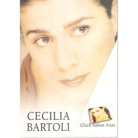 """CECILIA BARTOLI """"Gluck italian arias"""". PLV promo marketing. 2001"""