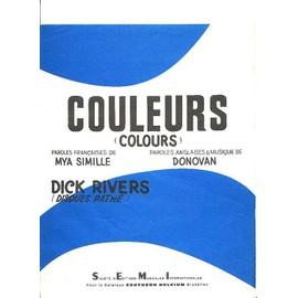 COULEURS ( COLOURS )