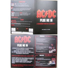 ACDC AC/DC PLAN MEDIA PLUG ME IN