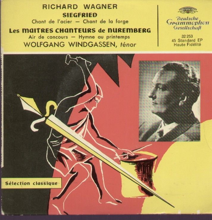 Siegfried Richard Wagner Chant De L