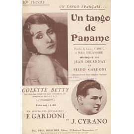 un tango de paname - colette betty- lucien carol- robert delamare