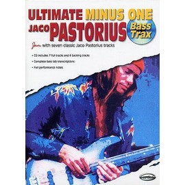 ULTIMATE MINUS ONE JACO PASTORIUS Bass Trax