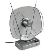 Mediall - ANTENNE D'INTERIEUR ELECTRONIQUE AMPLIFIEE FM-VHF/UHF