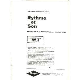 Rythme et Son n°5 Cours gradué de formation musicale de l'oreille