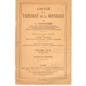 Abr�g� De La Th�orie De La Musique de danhauser, a.