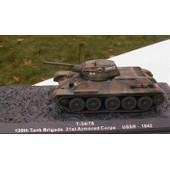Char D'assaut T-34/76 Urss 1942 Tank Brigade 1/72 Neuf
