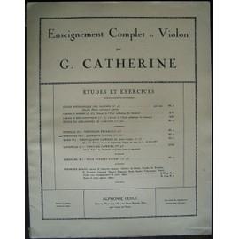 Enseignement complet du violon par G. Catherine