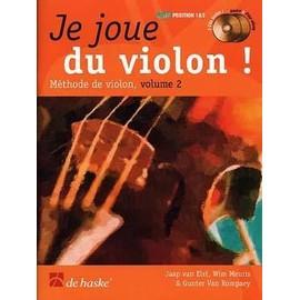 Je joue du violon vol 2 (+ 1 cd) - De Haske